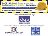 AAPA 15th Health & Safety Conference 2012
