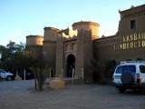 Hotel entrance in Merzouga
