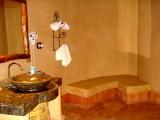 Hotel toilet in Merzouga