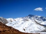 View at Oukaimeden (Atlas Mountains)