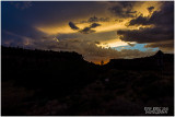 evening over Zion NP