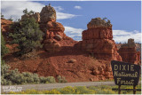 Red Canyon and Bryce Canyon