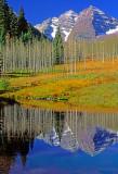 Maroon Bells Pond, Aspen, CO