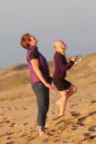 Beach, October 2012, Kite-flying