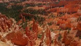 Bryce Canyon in Favorable combination of light and clouds