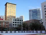 Skating rink at Union Square