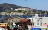 Alcatraz from Fisherman's Wharf