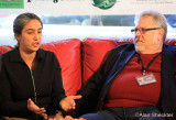 Tony Geraci, farm-to-school meal advocate, and subject of Best of Fest's Cafeteria Man, and Malaika Bishop are interviewed