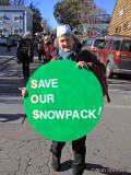 Climate Action parade on Broad Street