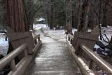 Unusual creek-bridge chairs