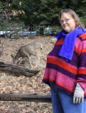 Donna and a new friend