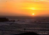 Sunset at Noyo Harbor