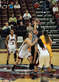 CCAA Women's Basketball Playoff Game: Chico State vs. S.F. State, Acker Gym, Chico, CA 3/5/13