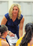 S.F. State Assistant Coach draws up a play