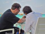 Photographers on Vilu deck