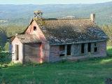 Old Chu Chua schoolhouse