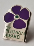 The Pushkin pin