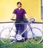 Mike's new bike
