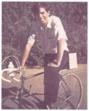Mike on my bike
