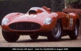 1956 Ferrari 410 Sport - Sold For $3,822,500 in August 2001