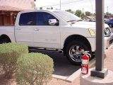 2005 Nissan 4x4 LElocal fire extinguisher