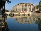 Rio Genil a su paso por Granada