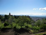 Granada. Vista desde el Sacromonte