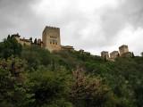 Vista de la Alhambra desde el Darro