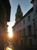 Cordoba.El Sol iluminando la Mazquita-Catedral