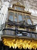 Córdoba. Organo de la Mezquita