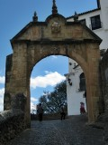 Ronda. Arco de Felipe V