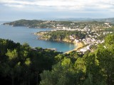 Llafranc. Vista des del Far de Sant Sebastià