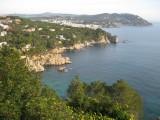 Vista des dels Jardins de Cap Roig
