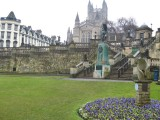 Bath. Parade Gardens
