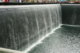 Waterfall at the New World Trade Center