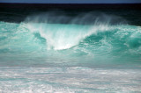Falling water at Sunset Beach