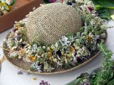 Hat with Haku lei