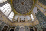 Reception Hall of the Dowager Sultan apartments of the Queen Mother Topkapi Palace Istanbul