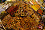 Love tea among other flavours with spices and Turkish Delight in the Egyptian Spice Bazaar Istanbul