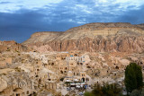 Redevelopment of ancient of stone dwellings in hilltop village of Cavusin in Cappadocia Turkey