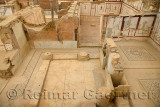 Restoration work in upper class palaces of the Slope Houses of ancient Ephesus Turkey