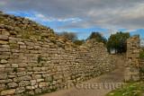 Ancient walls of Troy VII site of the Trojan War near Hisarlik Turkey