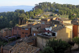 le soir, à Roussillon