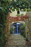 un patio en Lubéron