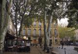 cours Mirabeau à Aix