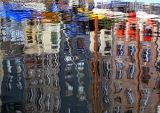 reflets à Honfleur