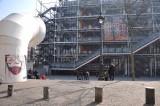 Parvis Beaubourg et Centre Pompidou - 8620
