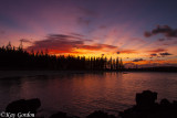 Sunrise over Emily Bay, Norfolk Island