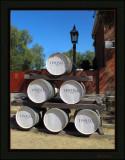 Wine barrels - Port of Echuca precinct