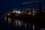 Aalter industries @ night